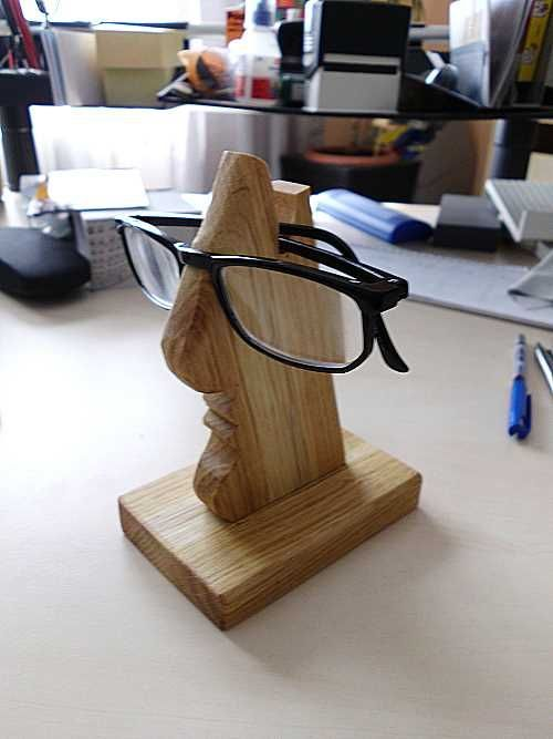 Wohin mit der Brille? Bauanleitung zum selber bauen – Rainerle