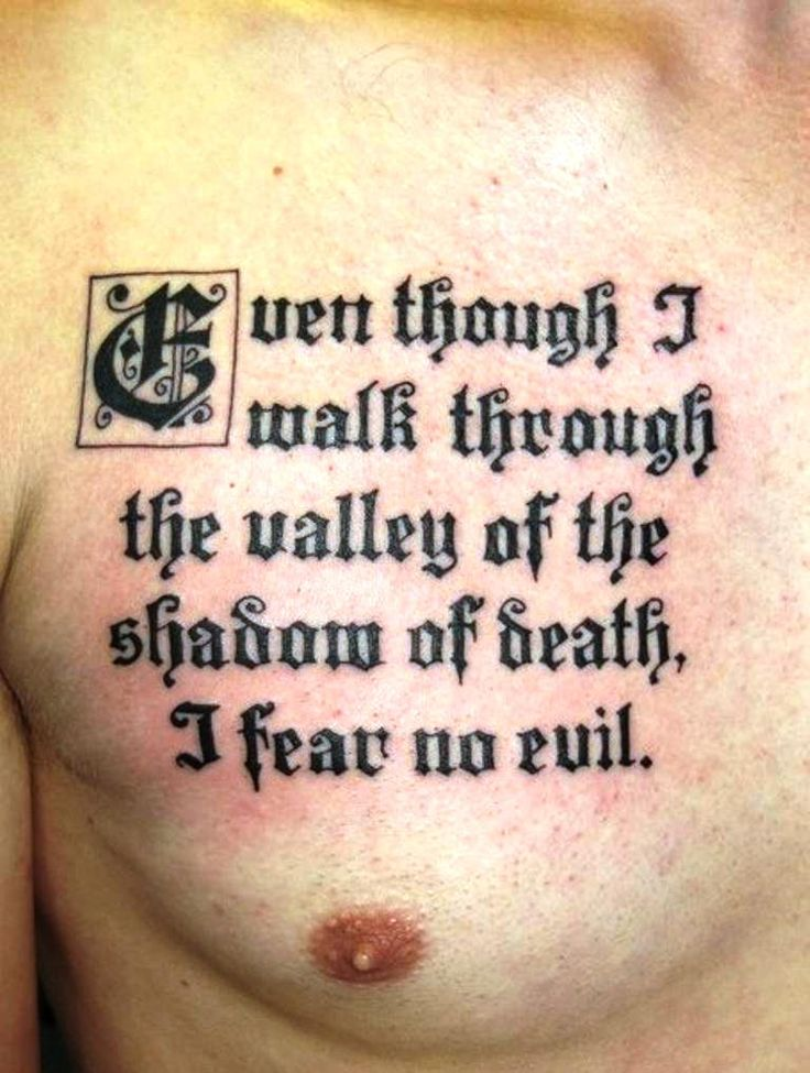 25 best men tattoo quotes on pinterest beauty quote for Best bible verses for tattoos