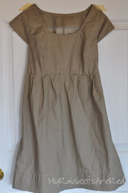 Washi dress - easy pattern!