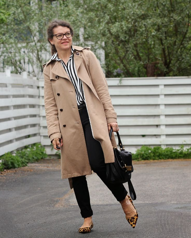 stripes trench