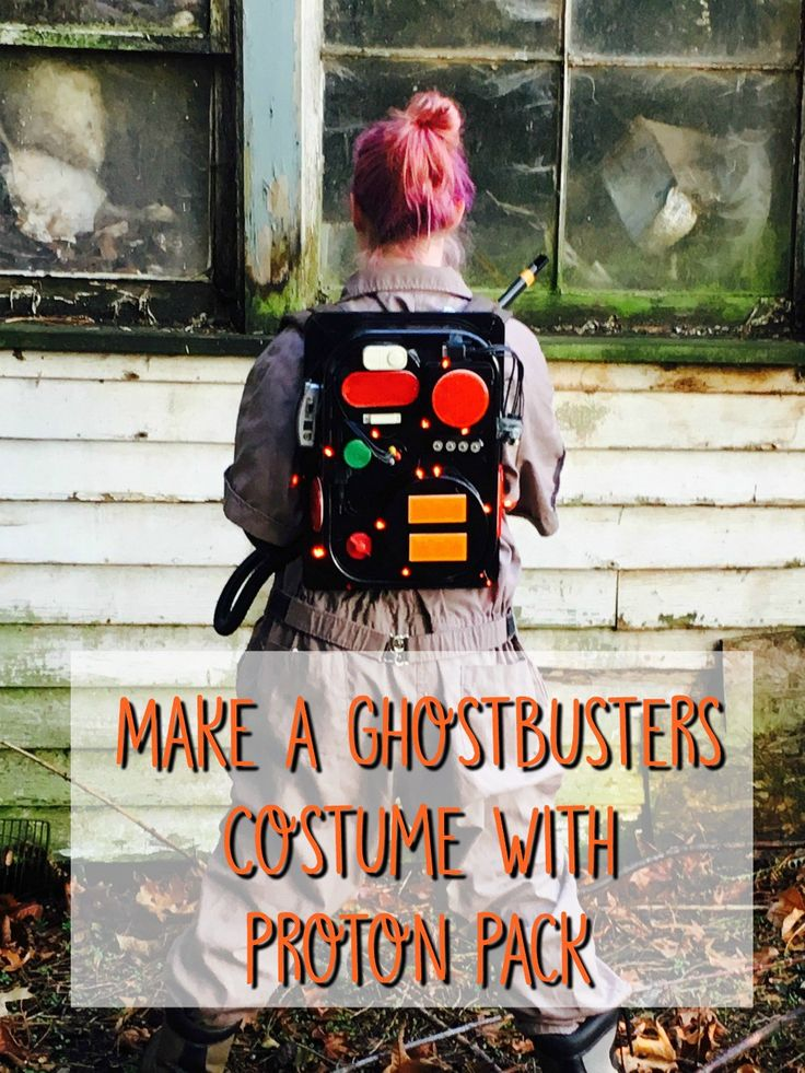 #ad #CatchMoreData #Ghostbusters Learn how to make a Ghostbusters costume with a proton pack