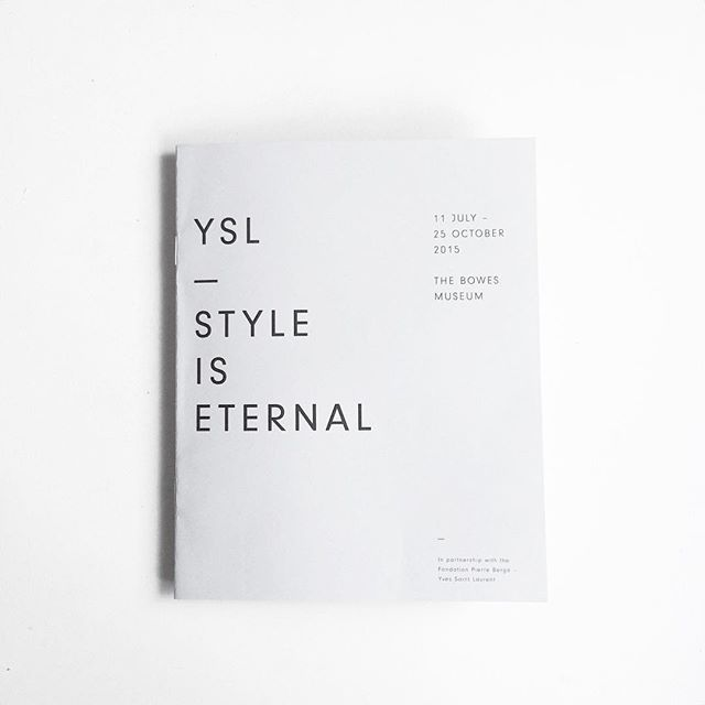 Stylelist.ED, stylelistED, Eva Vaughan, typography, type, logo, font, graphic design, minimal, layout, bound, book, style is eternal, YSL.