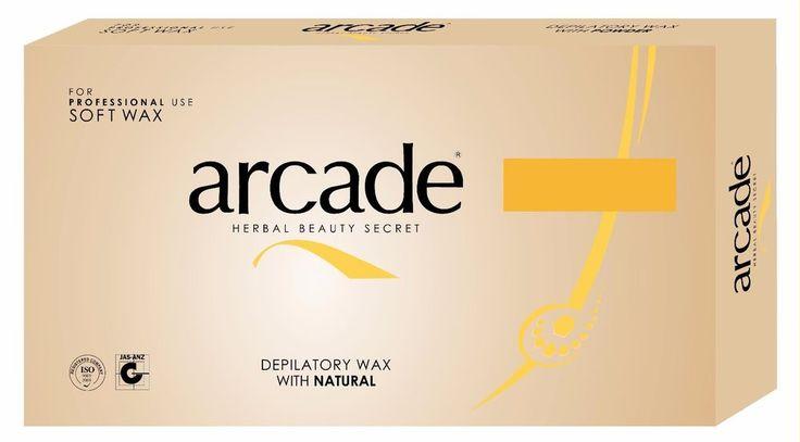 24x500g Arcade Heisswachs Natur, Enthaarung, Sir Agda, Wax, Warmwachs