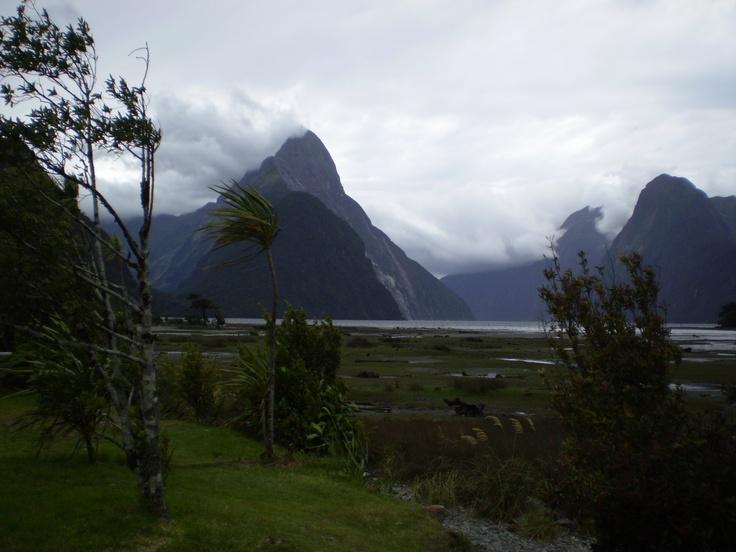Mitre Peak, Milford Sound NZ