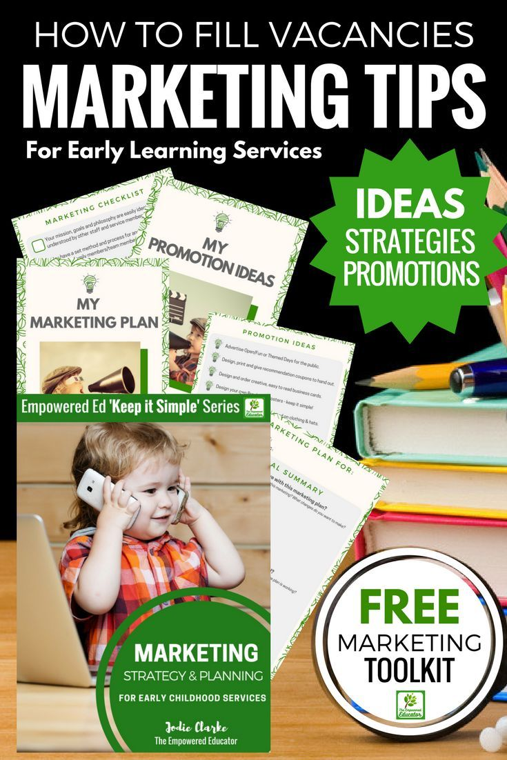 Child Care Marketing Strategies Simple Ideas To Fill Vacancies