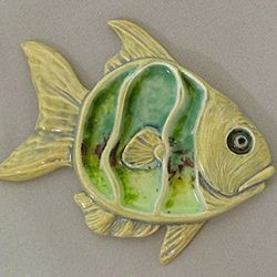 Ceramic fusion! Combine painting and glass into one project (session: Hit the Beach)
