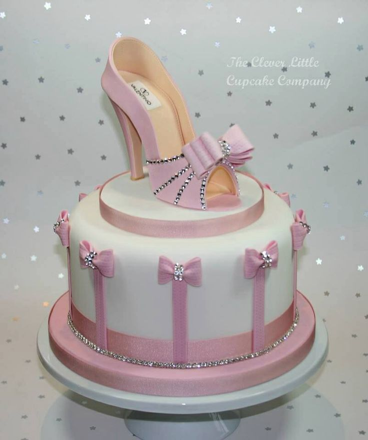 Birthday Cake Designs Shoes : Shoe/high heel cake Happy Birthday!! Pinterest Cakes ...