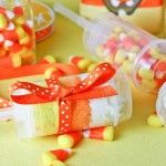 Candy Corn Push -Up Pops