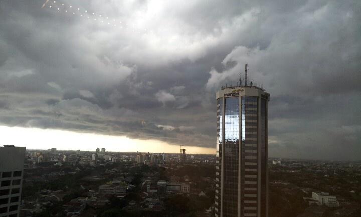 Cloudy #jakarta #indonesia
