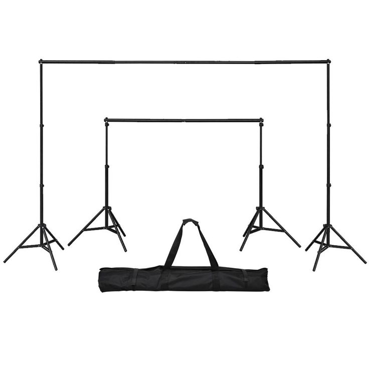 $39.99, portable and telescopic. 6x10 ft Portable Photography Background Backdrop Stand Kit