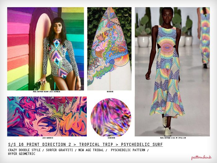 Spring/Summer 2016 Print Trend Report Part 2 trend forecasts print pattern