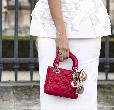 Lady Dior Red Bag....wish list!