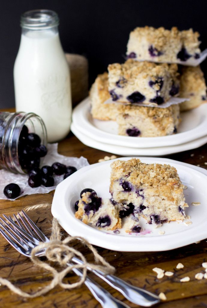 Blueberry Breakfast Cake    SugarSpunRun