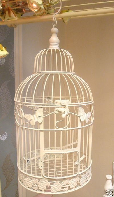 Pretty ornamental birdcage