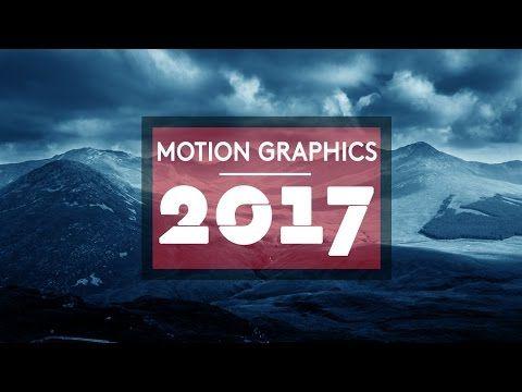MOTION GRAPHICS REEL 2017
