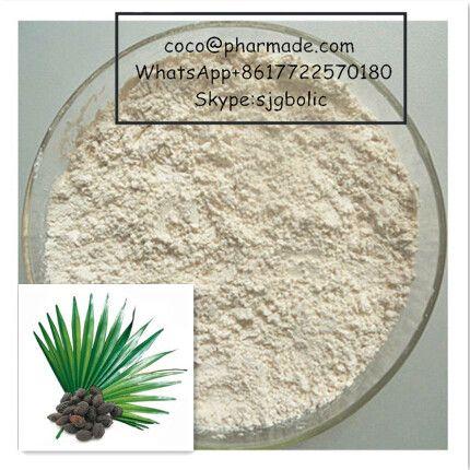 Pure Saw Palmetto P.E Powder with Phytic Acid Natural Sterilization  coco@pharmade.com WhatsApp +8617722570180 Skype:sjgbolic  Product Name: Saw palmetto Extract