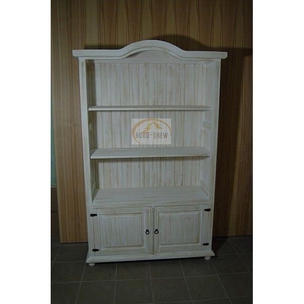Regał drewniany woskowany Zefir Reg 06