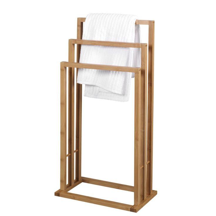 Houten handdoekenrek google zoeken nieuw huis pinterest - Scheiding houten ...