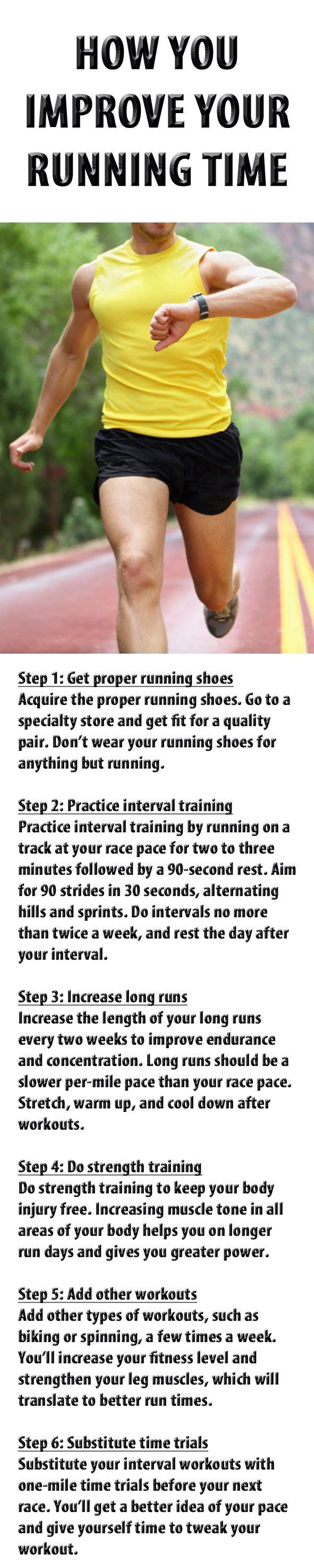 HOW YOU IMPROVE YOUR RUNNING TIME. #running #runningtips #runningadvice