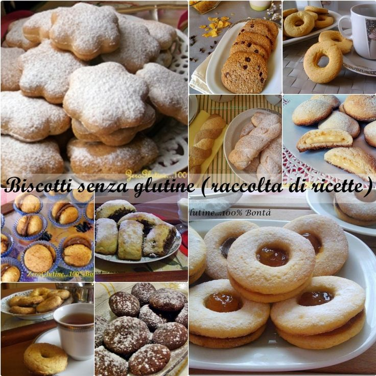 Biscotti senza glutine (raccolta di ricette)