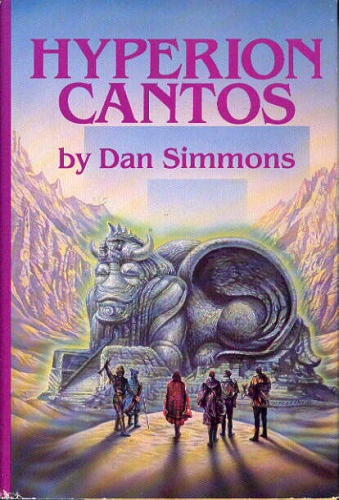 Hyperion Cantos by Dan Simmons. Huge, ambitious, sprawling saga of space, time and poetry.