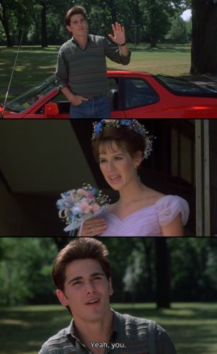 Jake Ryan still makes my heart beat a little faster  THIS movie will always be a fave!!! John Hughes is a total genius!!!!
