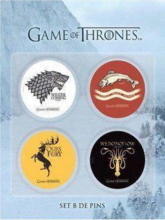 Game Of Thrones - Set b pins