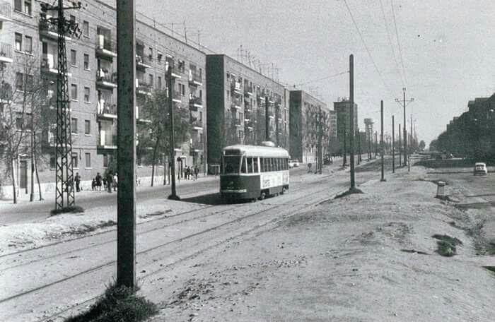 Calle Hermanos García Noblejas, 1970.