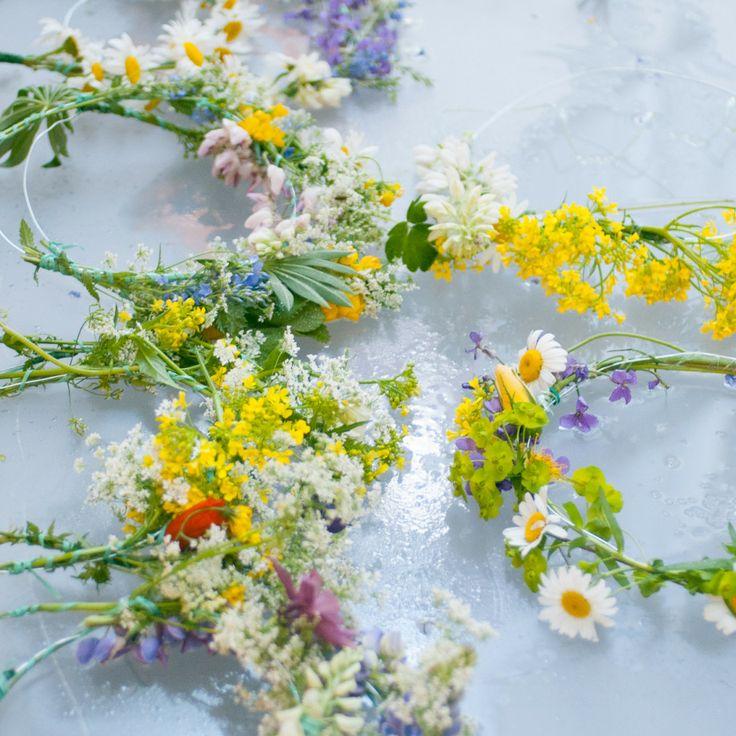 blomsterkranser