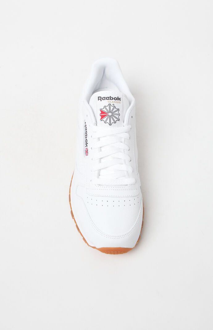 Reebok Classic Leather White Shoes in