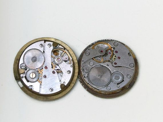 steampunk supply small watch movement square by AndrasVintagelane