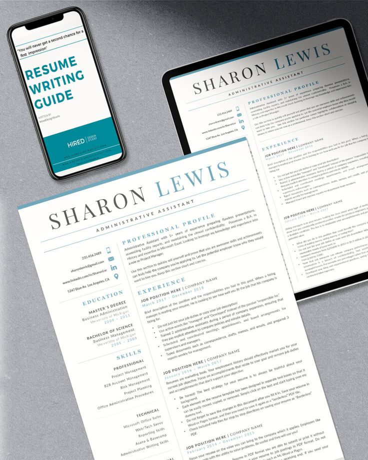 R47 SHARON LEWIS Administrative Assistant Resume