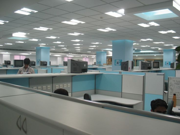 spacious office interior designs finished with white blue color scheme and bright ideas with in bow lamps office workspae pinterest classy