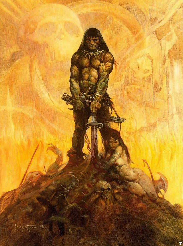 Conan the Barbarian by Robert E. Howard was first adapted into comics published by Marvel Comics beginning with the series Conan the Barbarian in 1970, written by Roy Thomas with art by Barry Windsor-Smith, John Buscema and Ernie Chan (aka Ernie Chua). The series spawned the more adult, black-and-white Savage Sword of Conan in 1974, by Thomas, Buscema, and Alfredo Alcala. Savage Sword of Conan soon became one of the most popular comic series in the 1970s and is now considered a cult classic.