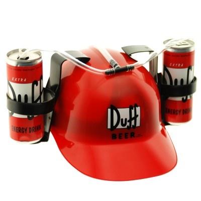 Casque boisson Duff Beer