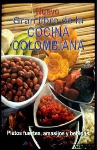 gran libro de la cocina colombiana  trata de la deliciosa típica comida colombiana, desde platos, amasijos y bebidas que encontraras en este gran libro para tu gusto.