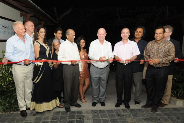 We are pleased to share that we have officially launched and inaugurated #enchantedislandseychelles, our beautiful #Seychelles property, in the presence of friends and local dignitaries. http://qoo.ly/3k48r