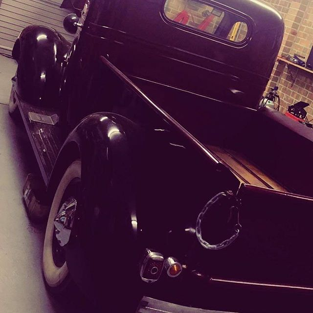 Working on this 37 Chevy Pickup #chevrolet #chevy #37chevy #pickup #classiccars #elitestreetclassics