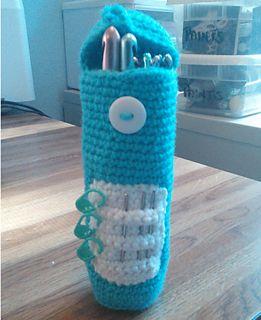 Small crochet hook case--free pattern