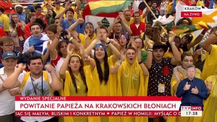 ŚDM Kraków 28-07-2016 Spotkanie papieża z młodzieżą na Błoniach