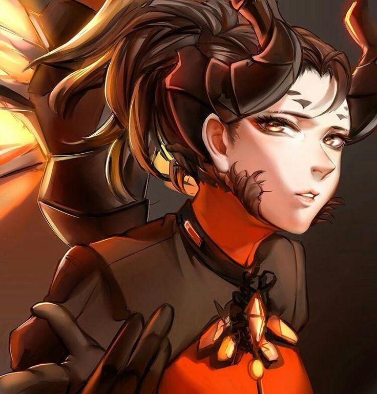 My favorite Mercy skin