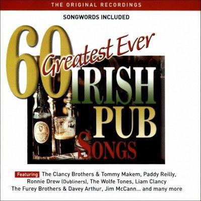 Various Artists - 60 Greatest Ever Irish Pub Songs (CD)