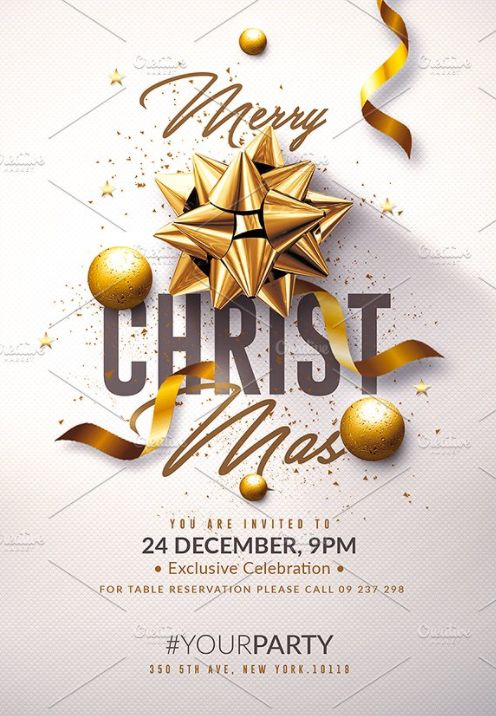 346 best Flyers - End of Year Templates images on Pinterest - free printable christmas flyers templates