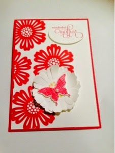 *LaLaLa ymcg crafting*: Mother's Day cards workshop