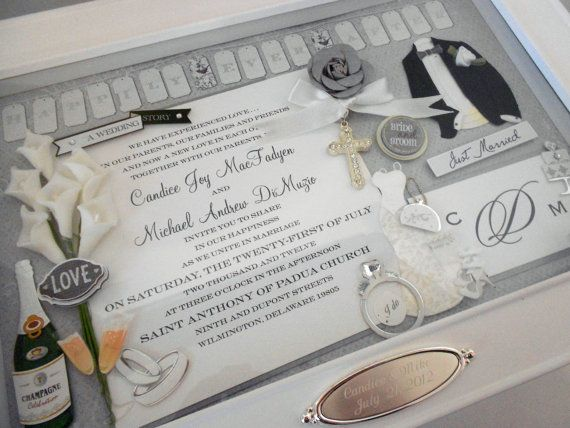 Gift Box Wedding Invitations: 25+ Best Ideas About Wedding Invitation Keepsake On