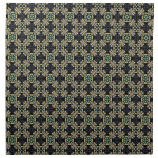 Green And Gray Tiling