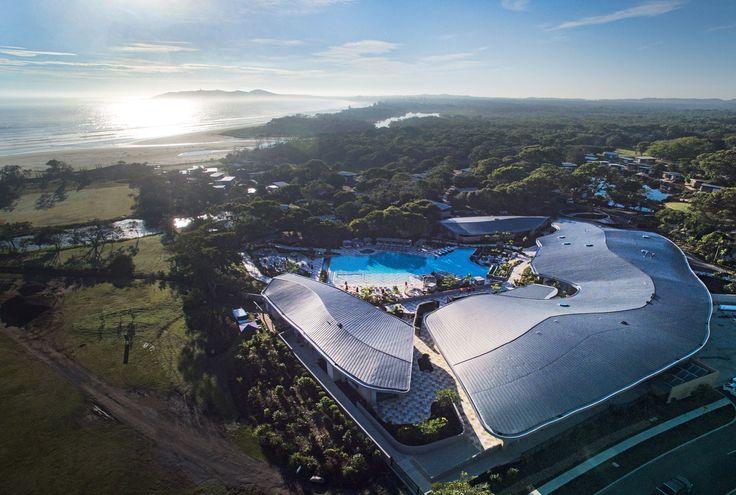 Elements of Byron resort in Byron Bay (Australia) by Shane Thompson Architects