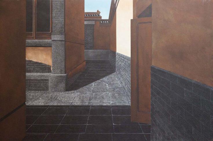 Corte lontana I, 2014 © Arduino Cantàfora. Galerie de l'Univers.