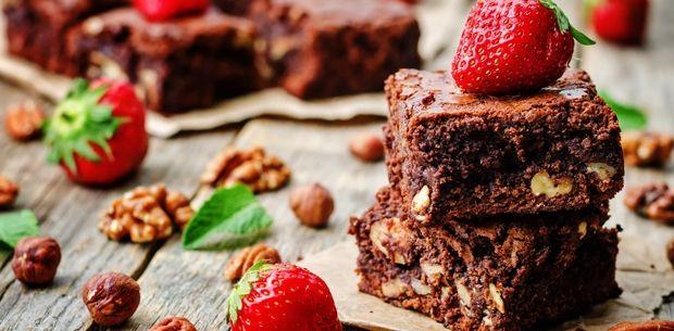 hazlenut-brownies