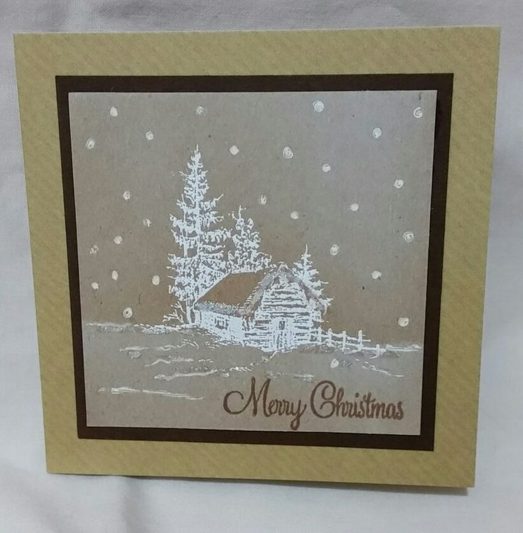 Christmas card using inkilicious stamps